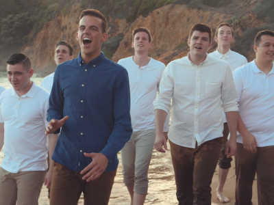 BYU Vocal Point Goes the Distance with The All-American Boys Chorus in new video