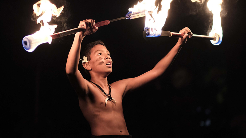Competitors six to 17 years old competed in the junior and intermediate divisions of the World Fireknife Competition on May 10.