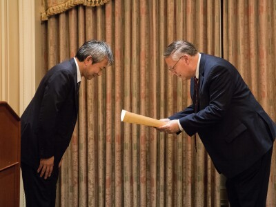 BYU Humanities Professor Commended by the Foreign Minister of Japan