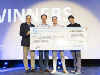 2019 Student Innovator of the Year launches business plan into space