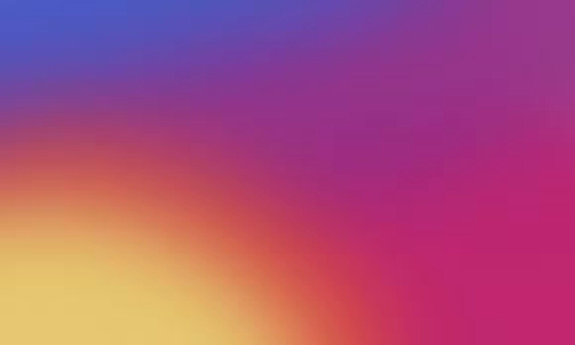 same rainbow pattern that instagram uses in logo