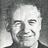 Newspaper Photo of Merlin J. Shaw