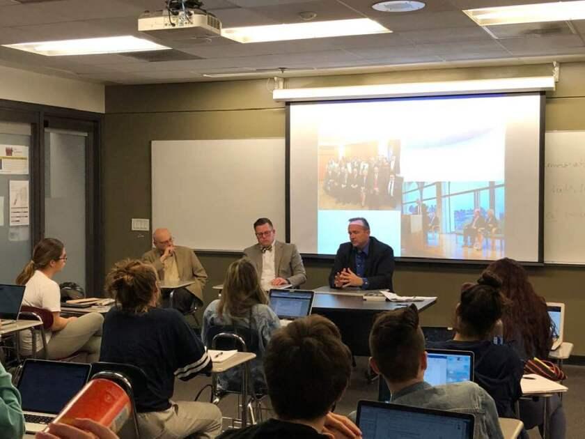 Nov 19, 2019 LMU - Diamond Interfaith Class