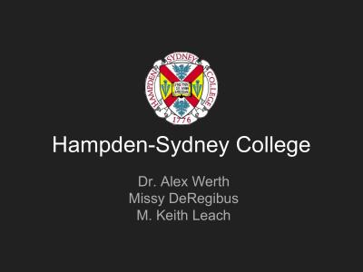 Presbyterian - Hampden-Sydney College