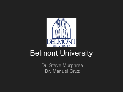 Ecumenical Christian/Baptist - Belmont University