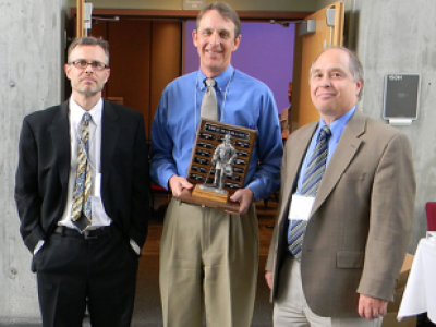 Dr. Rollins Receives UDOT Trailblazer Award