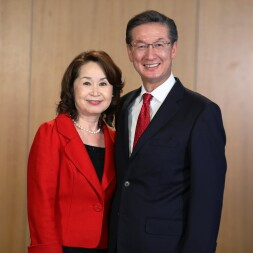 Portrait of Elder and Sister Yamashita