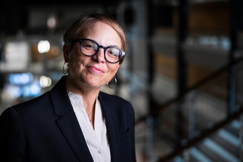 A professional portrait of Amy Jensen, CFAC associate dean and professor.