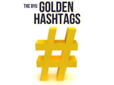BYU Golden Hashtags Logo Thumbnail
