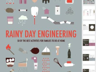 Professor and students create a do-it-yourself engineering activities book for kids
