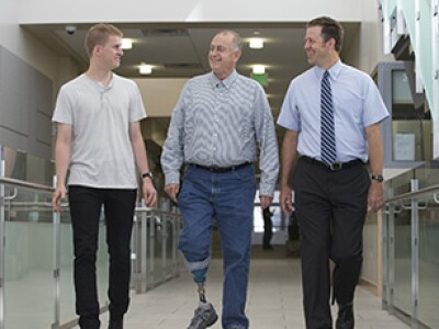Jacob Hatch, Bryant Hatch and Brad Berges