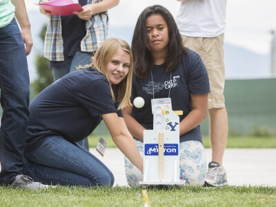 BYU Youth Camps Encourage Participation of Girls in STEM Field