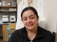 Congrats to Claudia on successfully defending her dissertation! Here are twi videos featuring Claudia and her work: