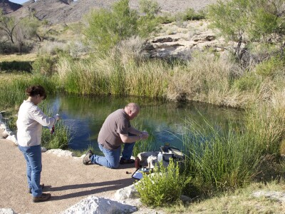 Oasis near Death Valley fed by ancient aquifer under Nevada Test Site, study shows