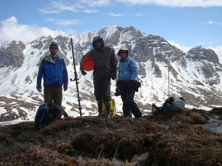 Dr. Ben Abbott, plant and wildlife sciences professor, has been conducting research on permafrost collapse and the effects that it has on Arctic ecosystems and the global ecosystem as a whole.