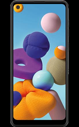 Image of Samung a21 cellphone