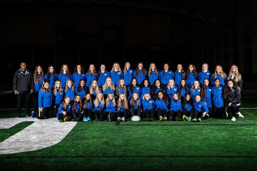 BYU Women's Rugby Team Winter/Spring 2020