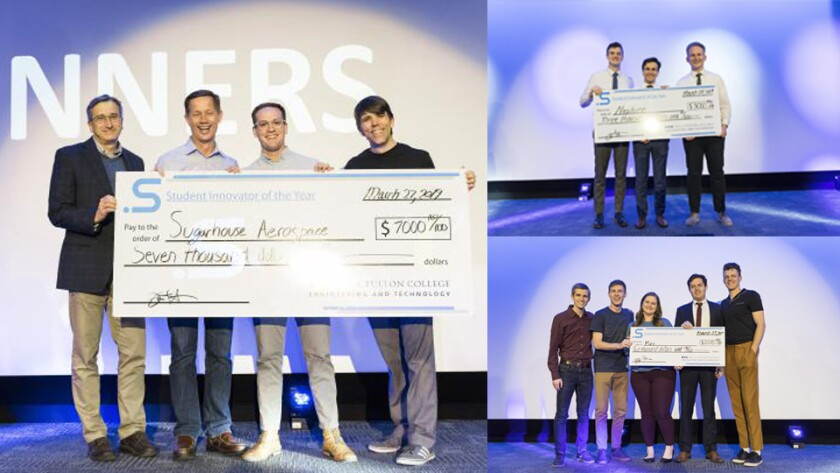 BYU receiving their SIOY awards