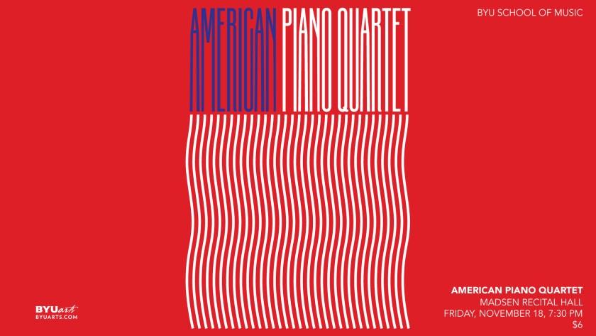 BYU American Piano Quartet
