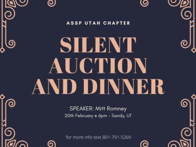 ASSP Utah Chapter Silent Auction and Dinner