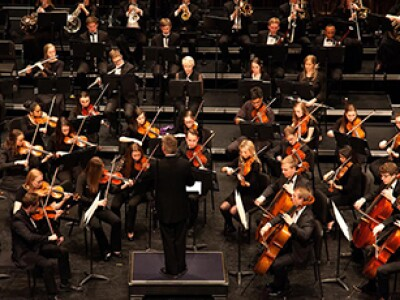 Symphony Orchestra directed by Christian Smith