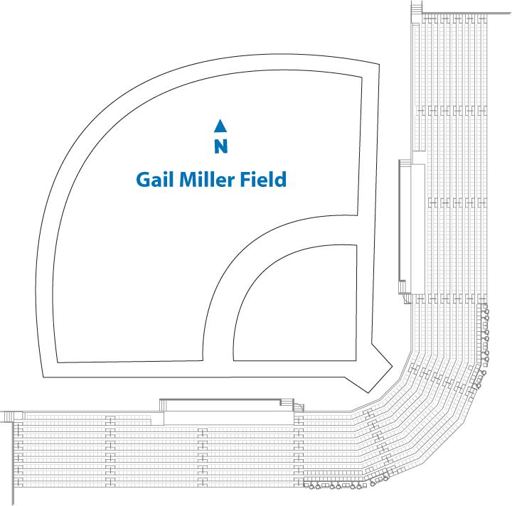 BYU softball seating