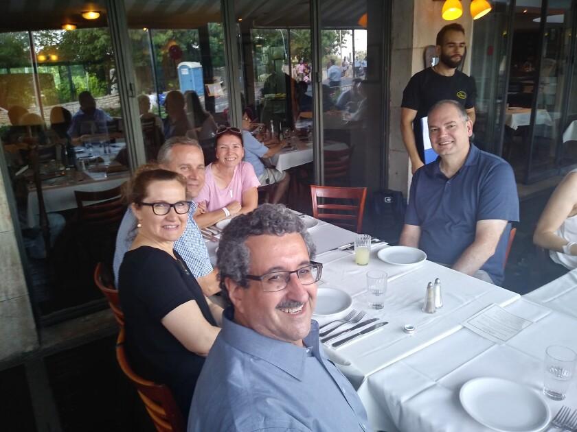 Closing dinner.Jewish-LDS Interfaith dialogue.Mark Diamond.Margaret & Jared Ludlow.Jen.Quin Monson.June 2019.jpg