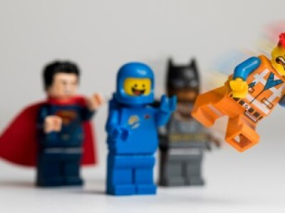 toppling Lego