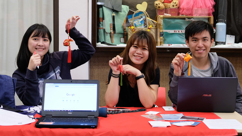 Students presented their clubs during Club Fest on May 8 in the Aloha Center.