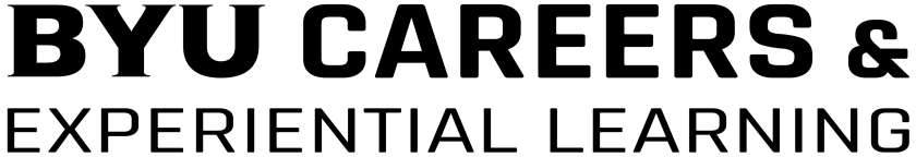 BYU Careers _ Experiential Learning Logo (Black).png