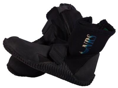 black wetsuit booties