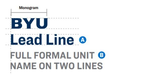 An image of byu lead line