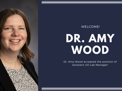 Welcome Dr. Wood