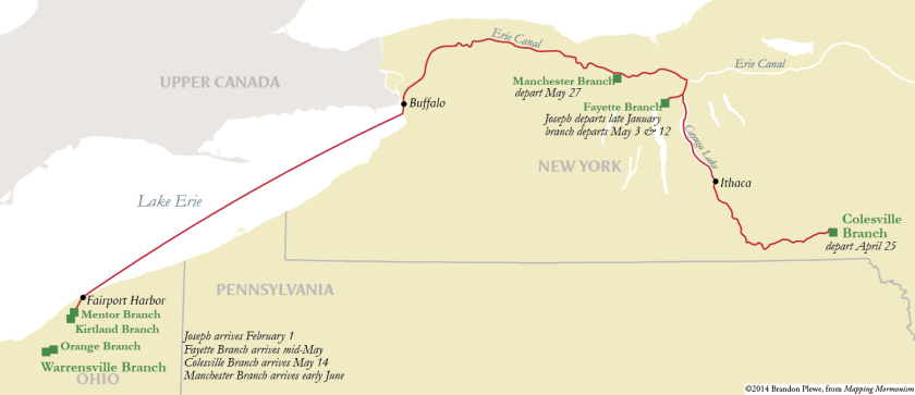 The First Exodus: New York to Kirtland