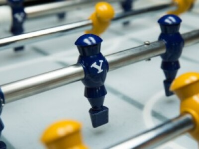 BYU-created A.I.-powered foosball table goes head to head with humans
