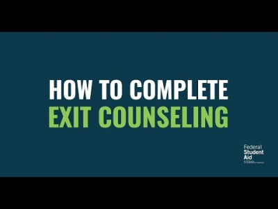 How to Complete Exit Counseling