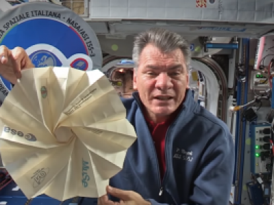 Taking origami to space