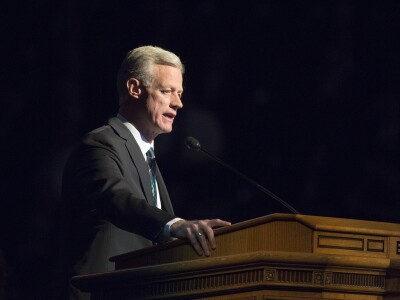 #BYUDevo: Pres and Sister Worthen on Building Relationships, One Wedding Cake Opportunity at a Time