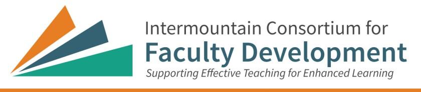 Intermountain Consortium of Faculty Developers Logo