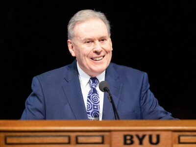 BYU Devotional: Meekly placing our total trust in God