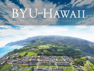 BYU–Hawaii Spring 2015 Magazine