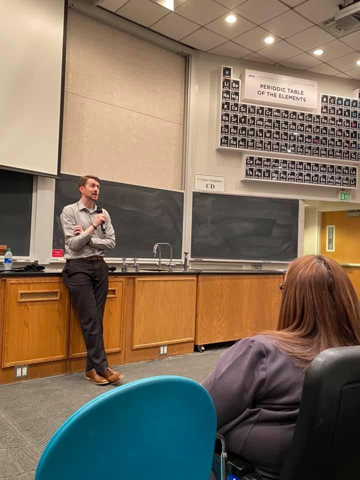 Feb 25, 2020 Public Event (BYU) - Jacob Rennaker