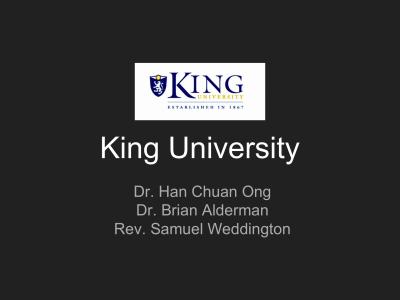 Presbyterian - King University