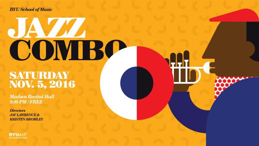 BYU Jazz Combo Night November 5th