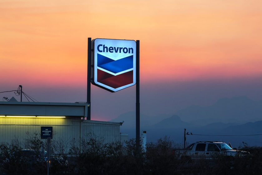 Chevron - Ludlow, California