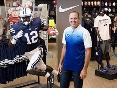"Cougar Queries: ""I'm currently working on creating a whole new BYU Store experience."""