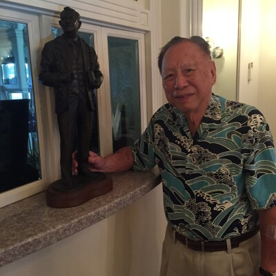 Photo of Leonard K. Fong, lifelong resident and supporter of BYUH