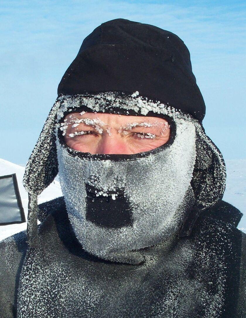 BYU professor Tom Smith in Alaska. Photo courtesy Tom Smith.