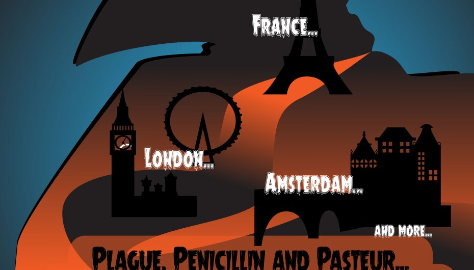 Plague, Penicillin and Pasteur: Microbiology in Europe