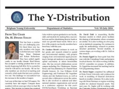 Y Distribution 2016
